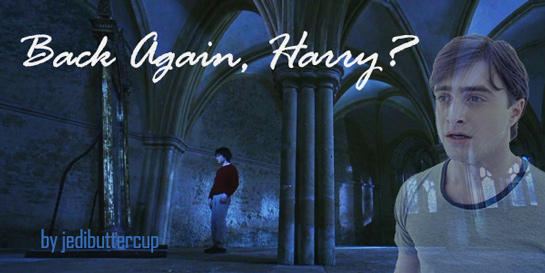 Back Again Harry Title Art