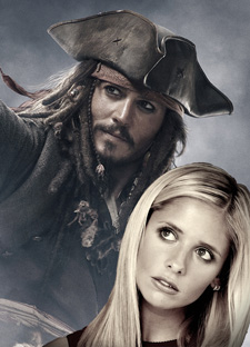 Buffy Summers and Jack Sparrow